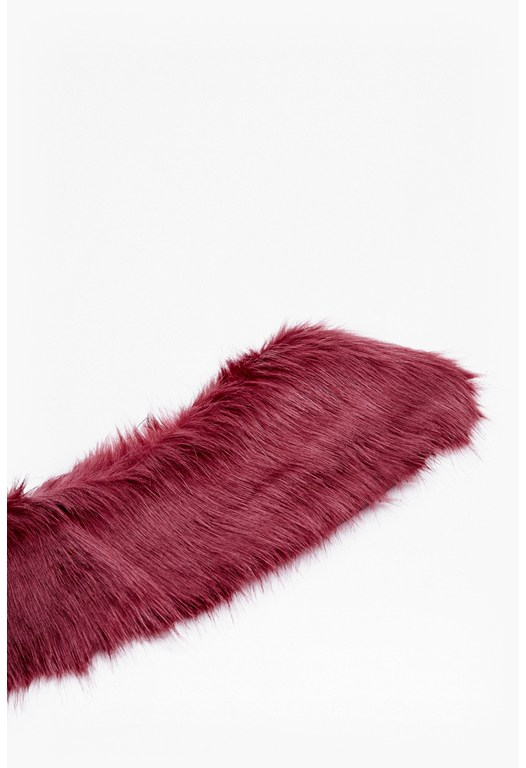 Colour Faux Fur Collar