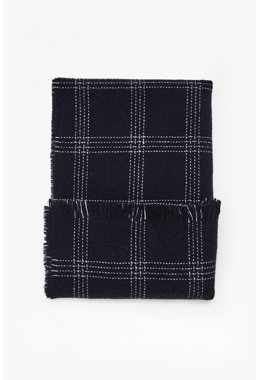 Loti Plaid Scarf