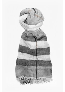 Distressed Check Woven Scarf