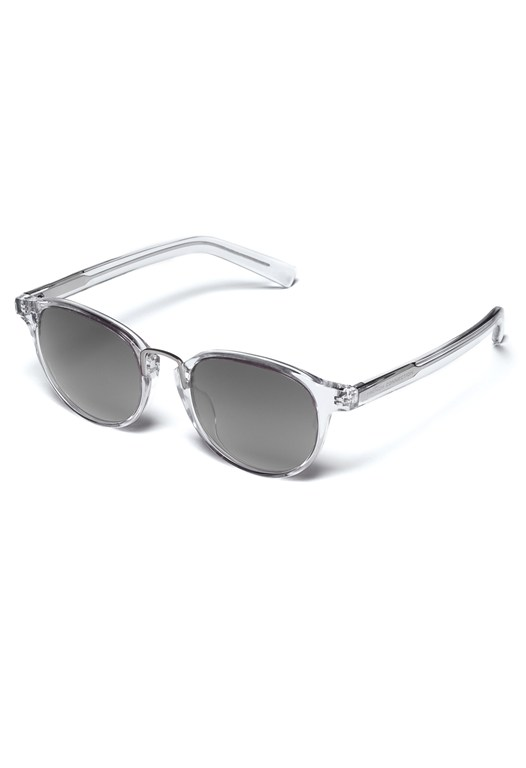 Premium Transparent Round Retro Sunglasses