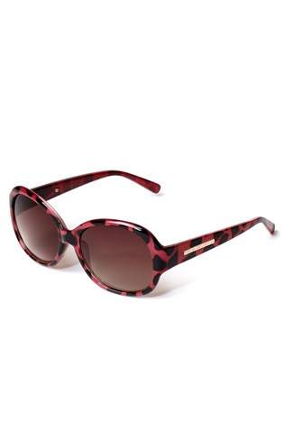 Printed Round Sunglasses