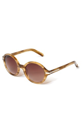 Honey Round Sunglasses