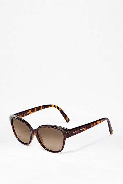 Deep Brow Detail Sunglasses