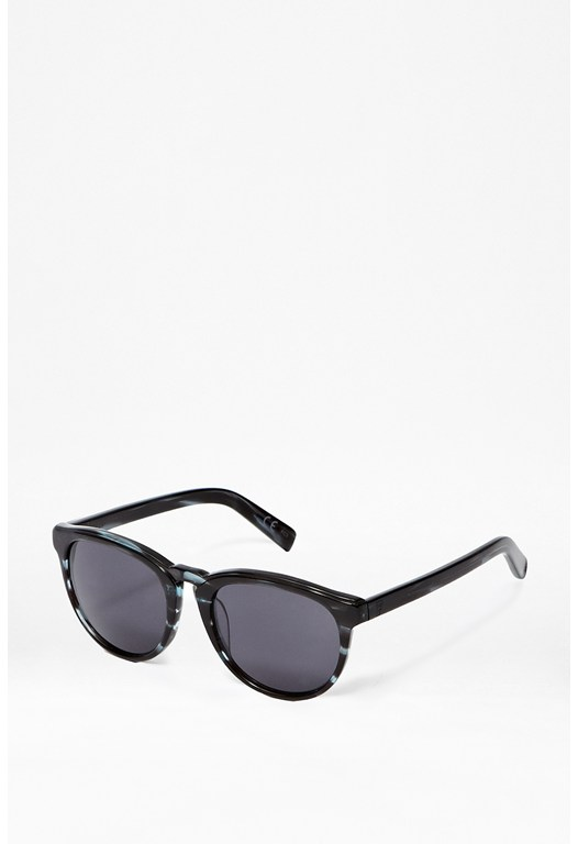 Streaky Blue Sunglasses