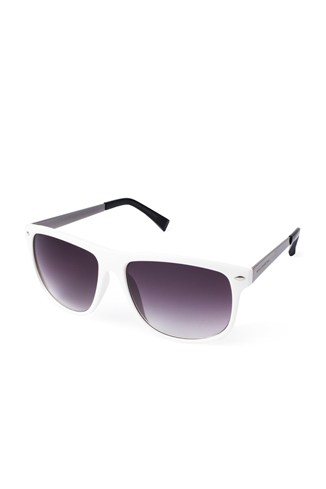 Small Retro Square Sunglasses Black