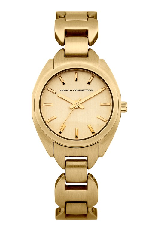Brushed Gold Stainless Steel Watch