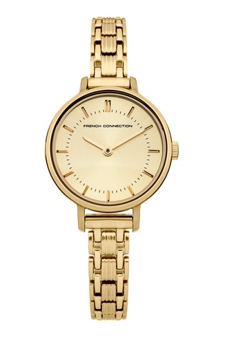 Pale Gold Stainless Steel Watch