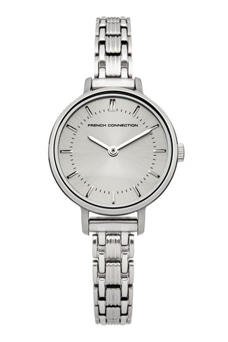 Grey Sunray Stainless Steel Watch