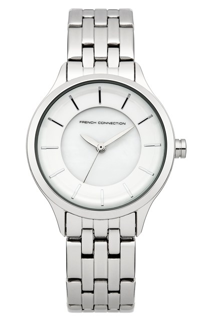 Classic Stainless Steel Bracelet Watch