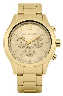Mayfair Gold Plated Bracelet Watch