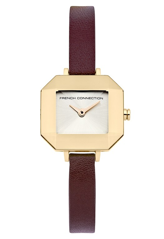 Lavender Leather Watch