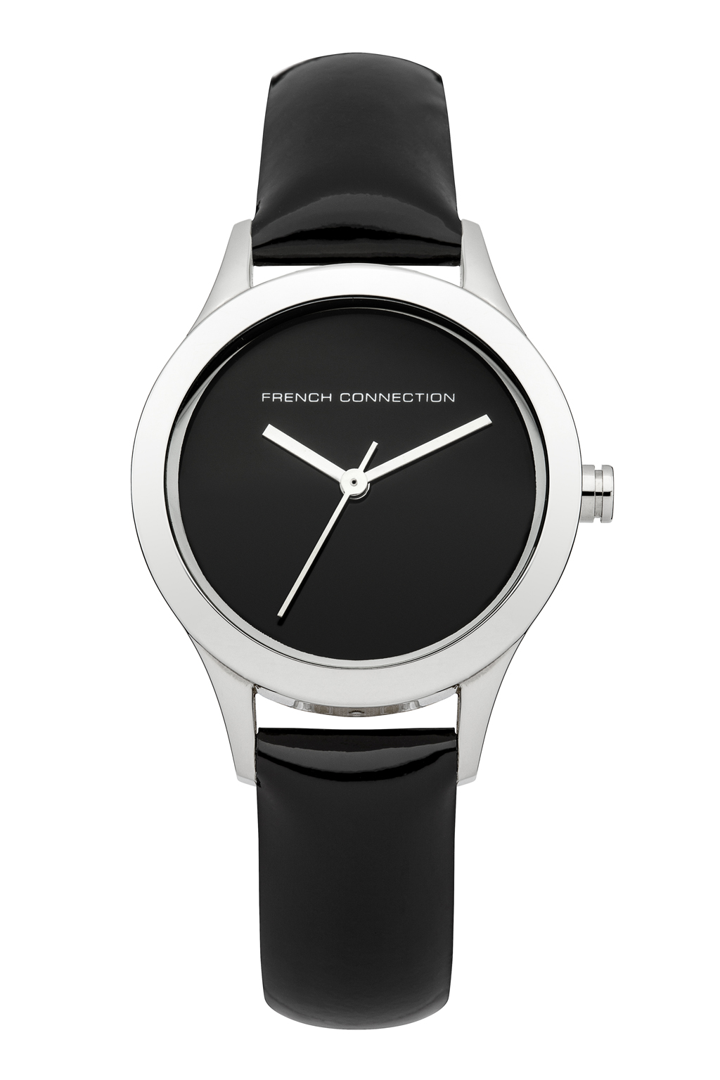 Mineral Glossy Leather Watch