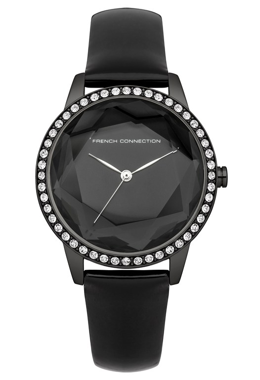 EVELYN Polished Crystal Watch
