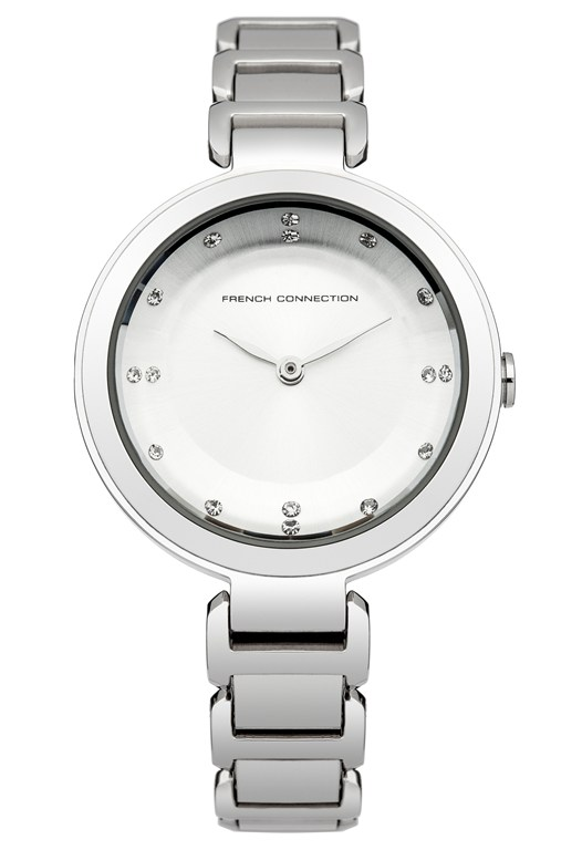 Polished Glass Bracelet Watch