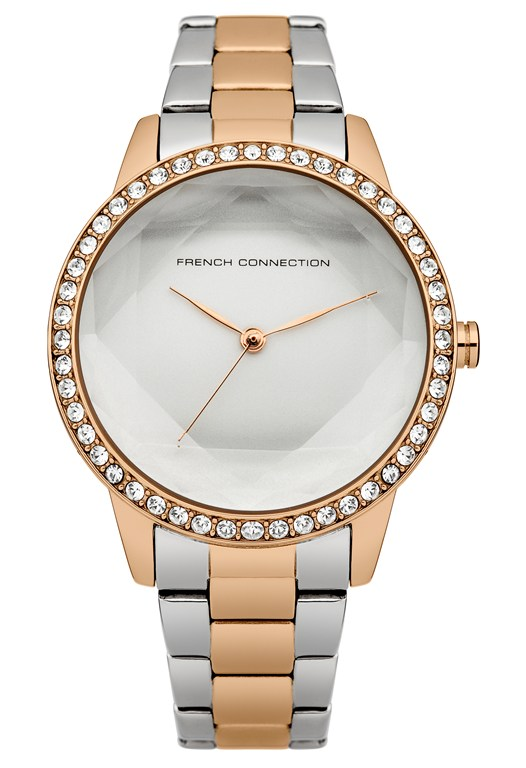 EVELYN Two-Tone Crystal Watch