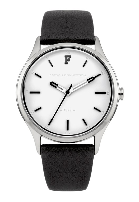 KENSINGTON PETITE Monochrome Leather Watch