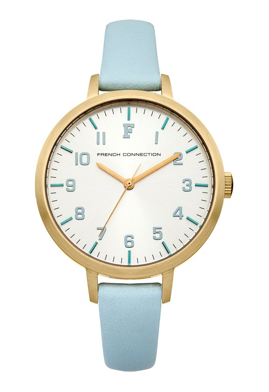 Gold Plated Brushed Case Watch