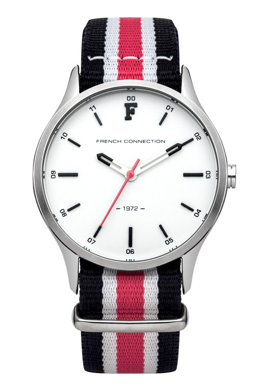 Polished Case Watch With Second Strap