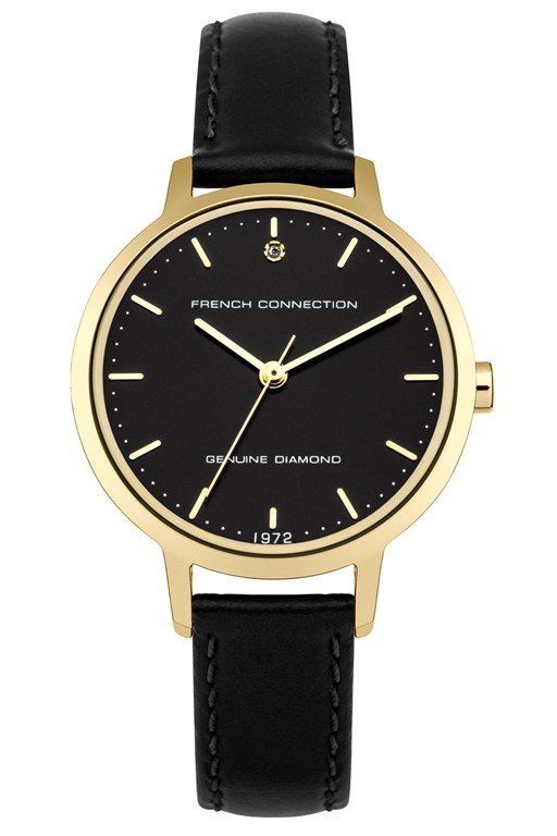 Complete the Look 30MM Leather Strap Watch