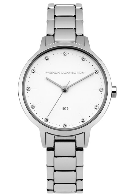 30MM Silver Bracelet Watch