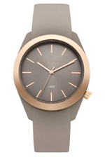 Looks Great With Parker Classic Metal Plated Silicone Watch