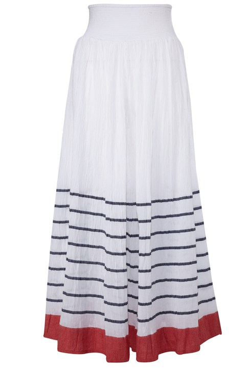 Sun Stripe Maxi Skirt