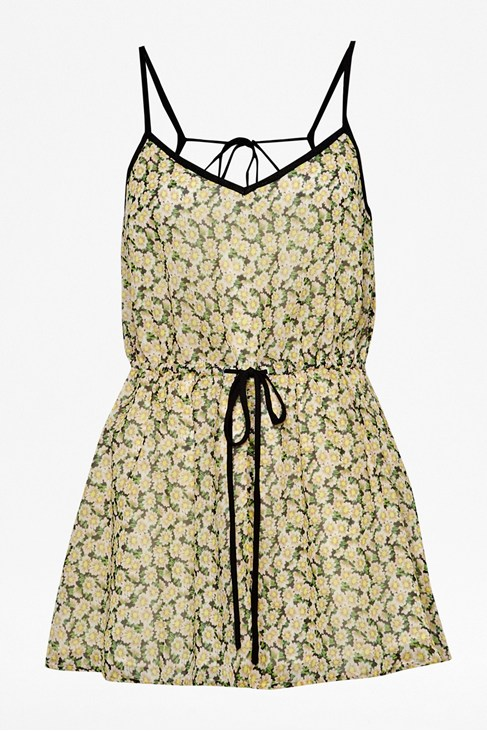Tropicana Printed Playsuit