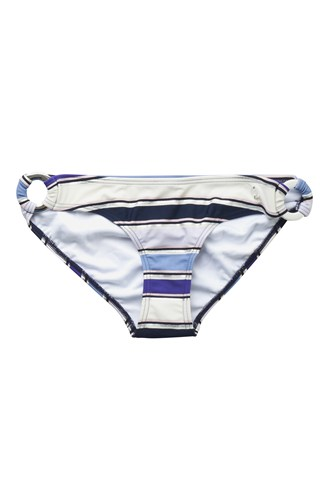 Stripey Sandy Ring Bikini Briefs