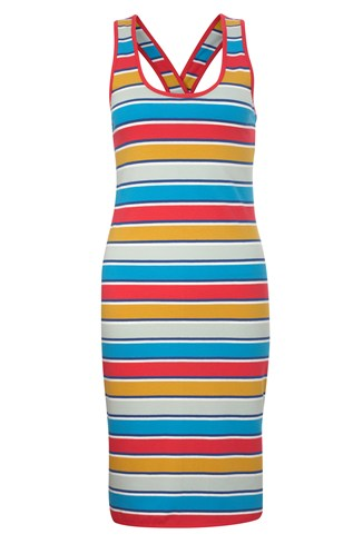 French Connection Stripey Sandy Mini Dress