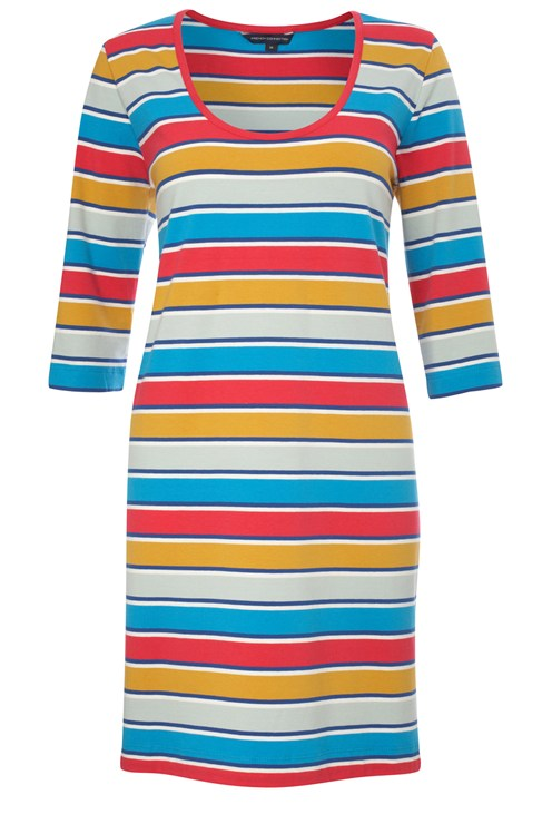 Stripey Sandy Short Dress