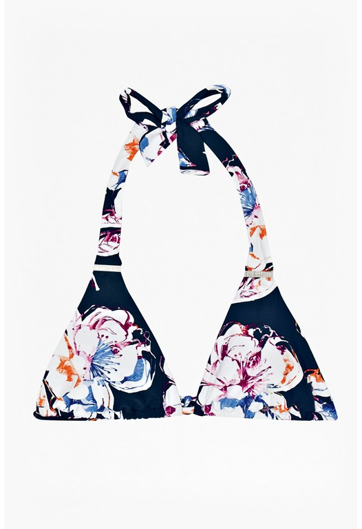 Shadow Bloom Bikini Top
