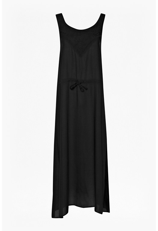 Lola Embroidered Maxi Dress
