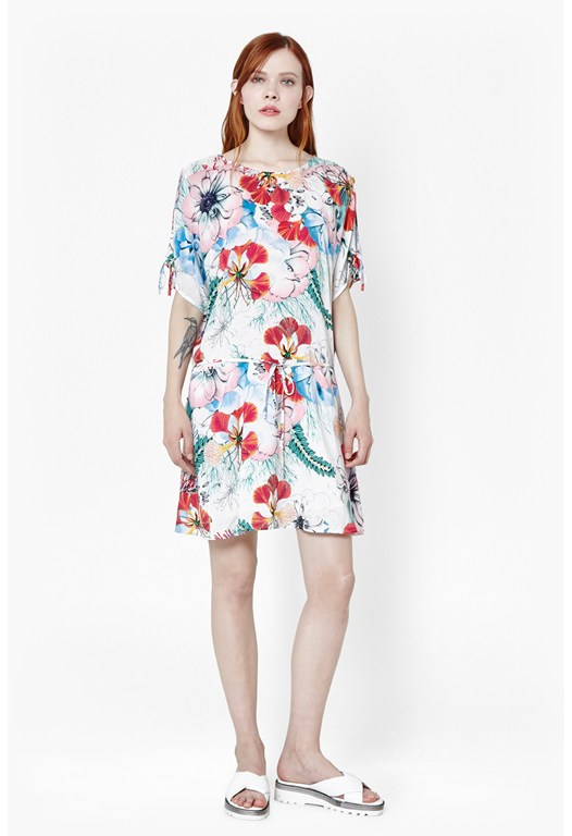 Tie Printed Dress