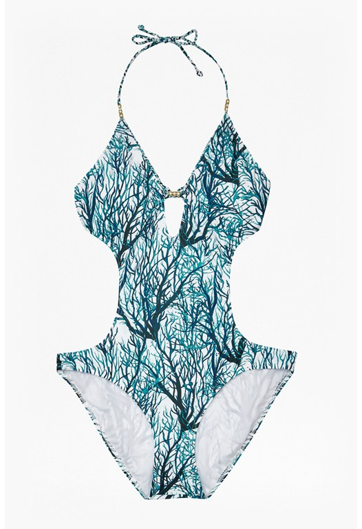 Plait Cutout Swimsuit