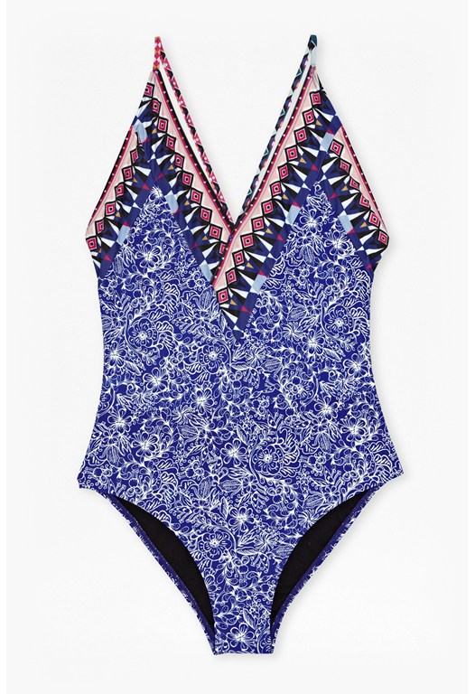 Roxy Wrap-Effect Swimsuit