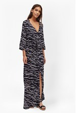 Looks Great With Tapir Wave Beach Maxi Dress