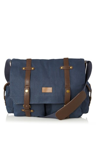 Forrest Cotton Messenger Bag