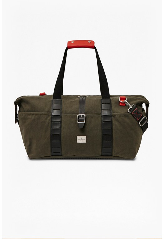Flavio Canvas Holdall