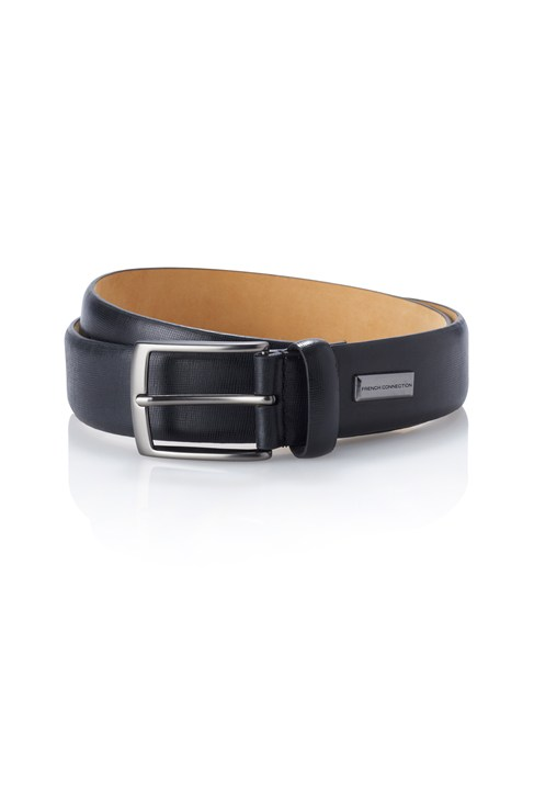 Textured Knurling Formal Belt