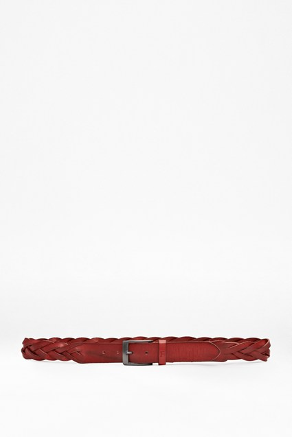 Julian Woven Leather Belt