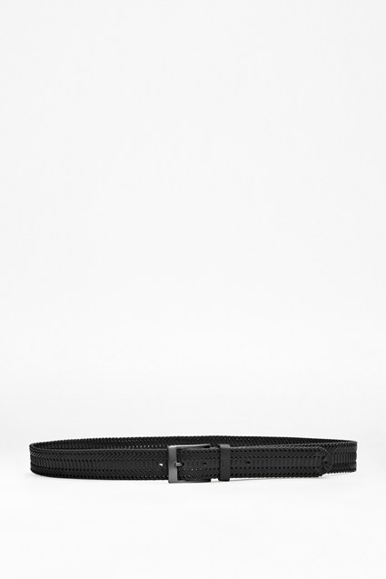 Madison Plaited Leather Belt