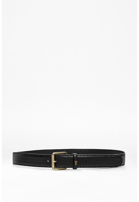 Clifton Woven Edge Leather Belt
