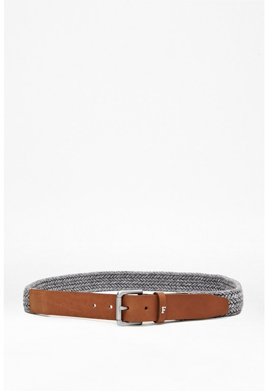 Skyler Woven Leather Belt