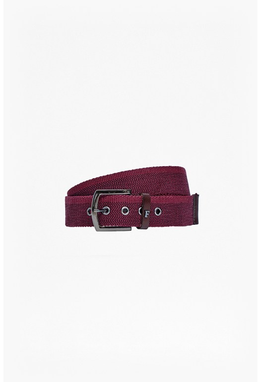 Henry Herringbone Printed Belt