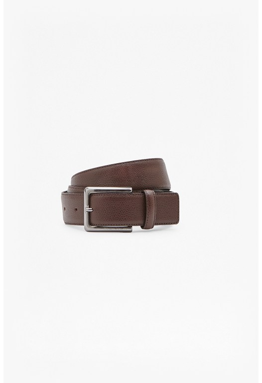 Lemmie Grain You Leather Belt