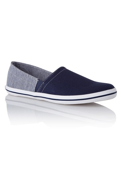 Fabio Canvas Slip-On Shoes