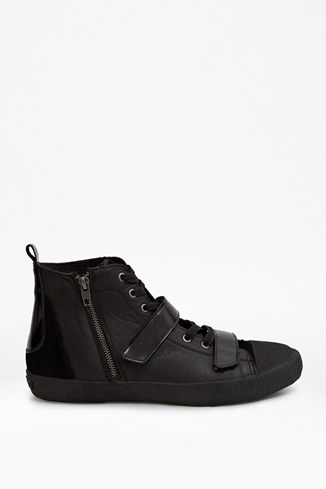Sean Leather High Top Trainers