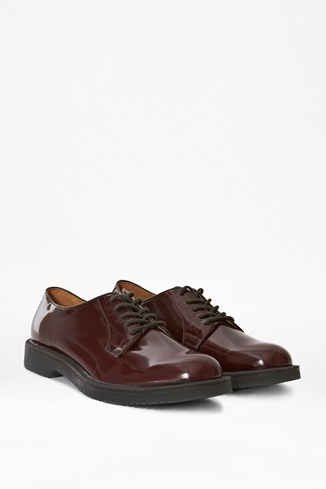 Mark High-Shine Leather Oxford Shoes