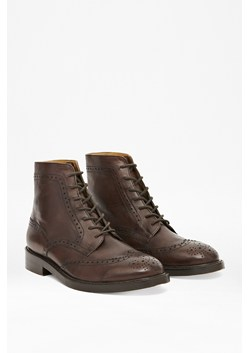 Nick Lace-Up Leather Ankle Boots