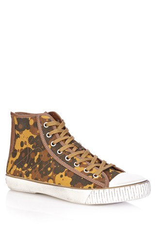 Sam Camo Hi-Top Sneakers